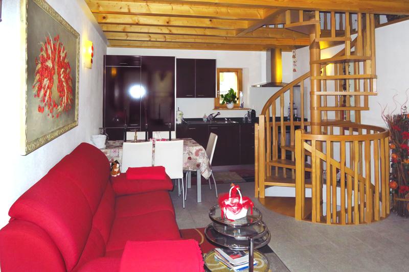 Cà Rivöi - Appartamento Sosto - Salotto